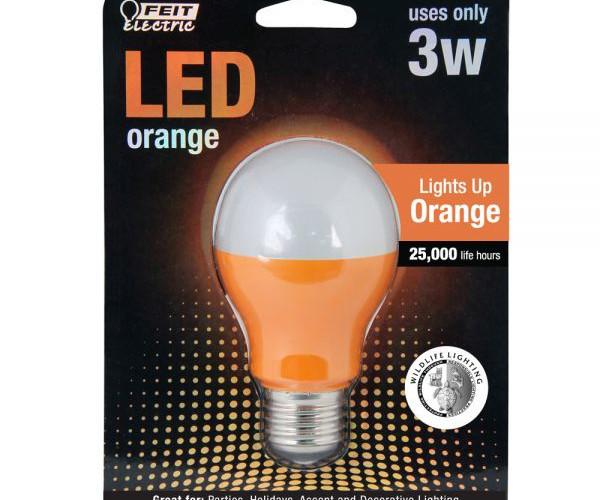 Orange-LED-A19