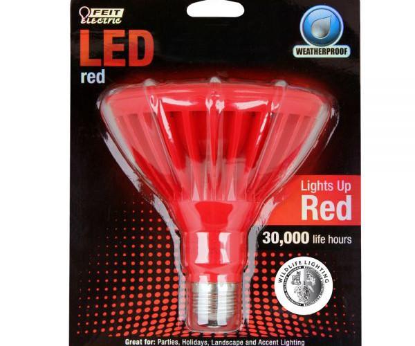 Red-PAR38-LED