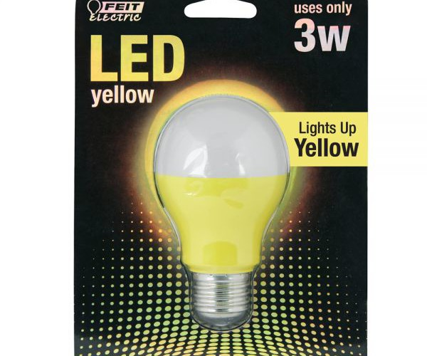 Yellow-LED-A19