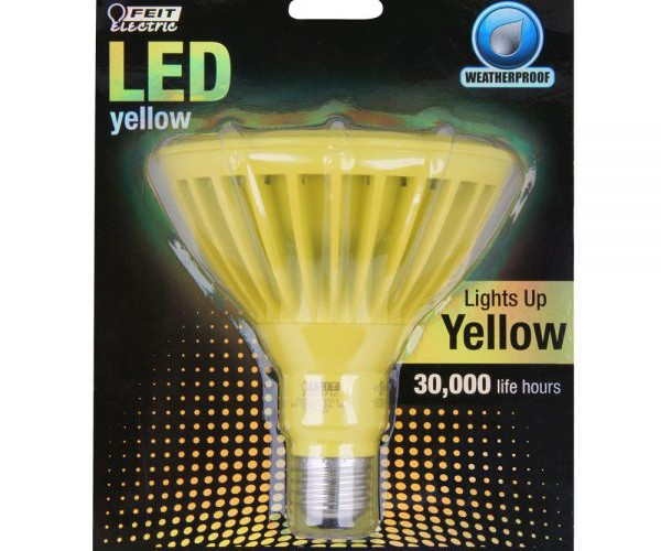 Yellow-PAR38-LED